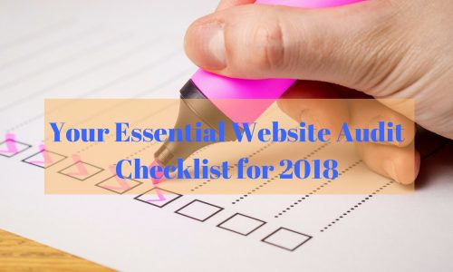 website audit checklist for 2018
