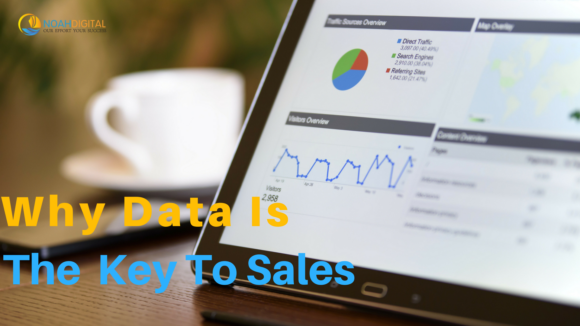 Data is the key to sales