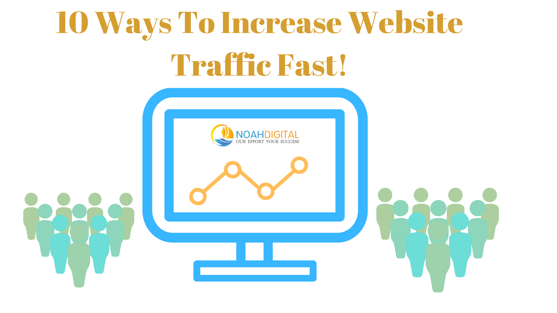 Ways to increase website traffic fast