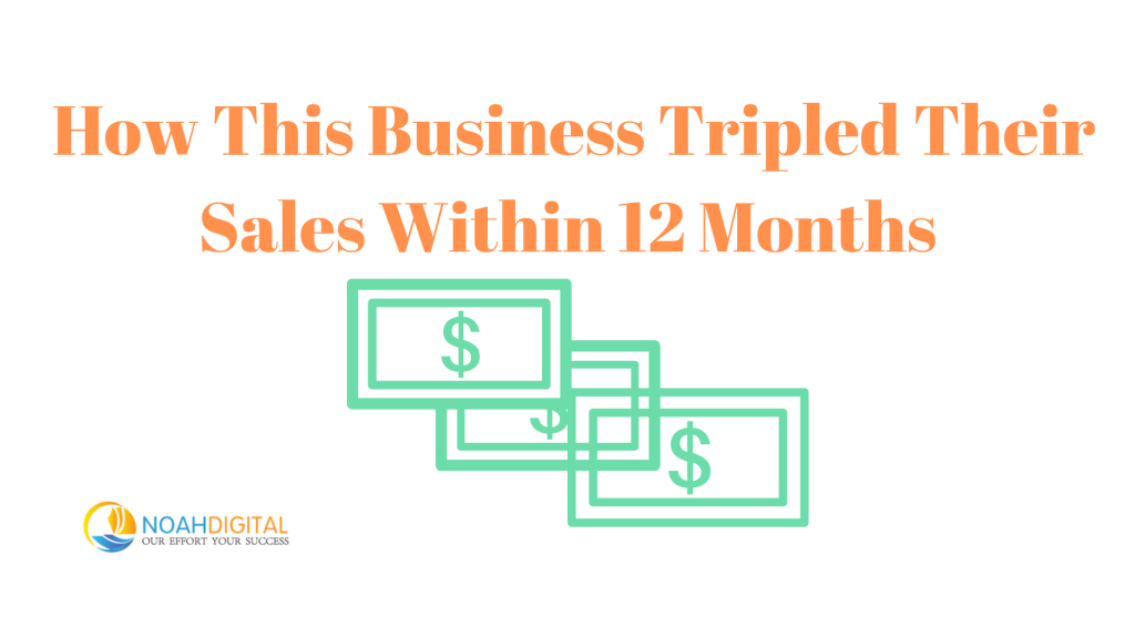 digital marketing agency in toronto How This Business Tripled Their Sales Within 12 Months