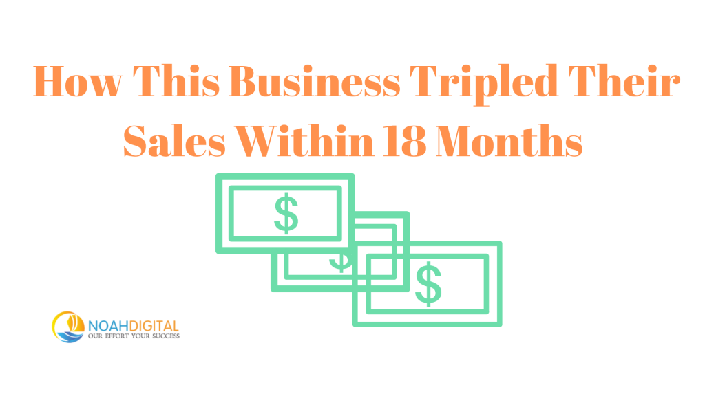 How This Business Tripled Their Sales Within 18 Months