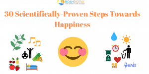 30 Small scientifically proven Steps Towards Happiness